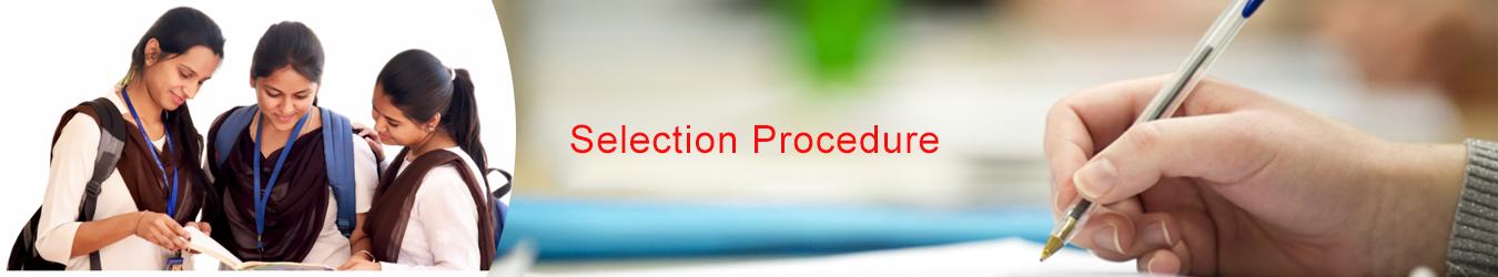 Selection Procedure